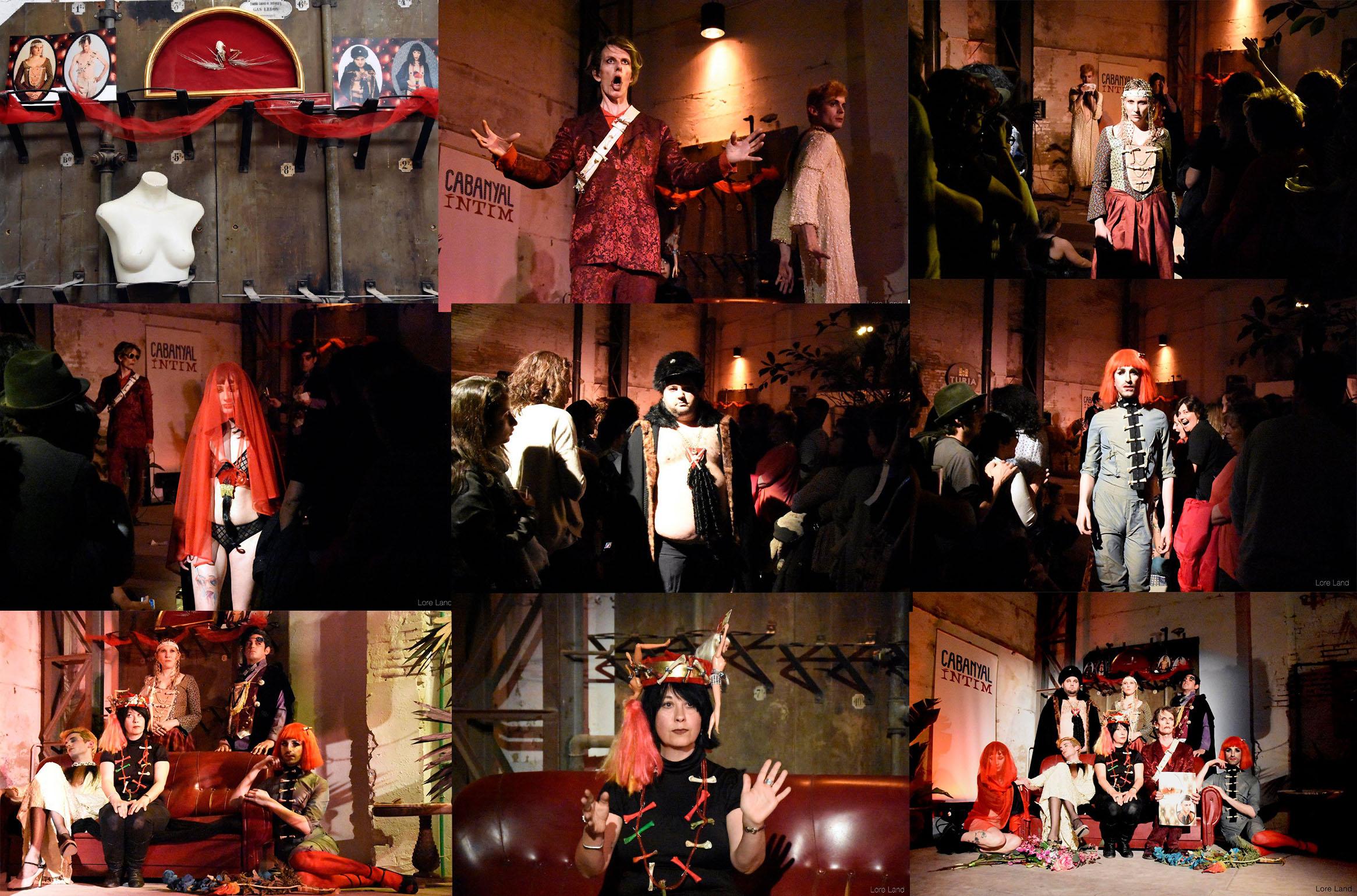pasarela Memento Mori collage