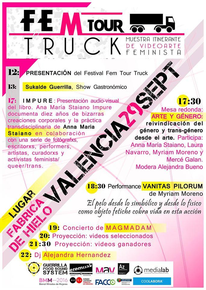 x-fem-tour-truck-poster