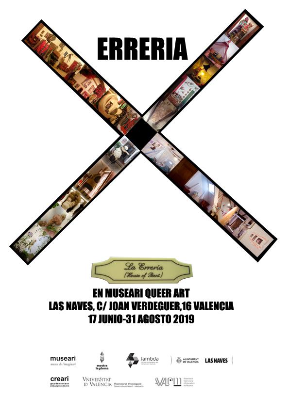 Erreria X - Cartel web